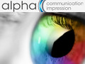 Alpha communication impression