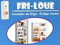Fri-loue - Location de frigo