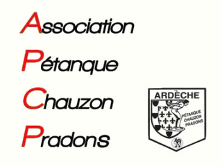Association Pétanque Chauzon Pradons